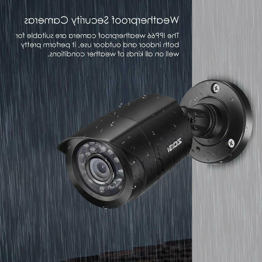 ZOSI 8CH 1080P Home Surveillance DVR Outdoor