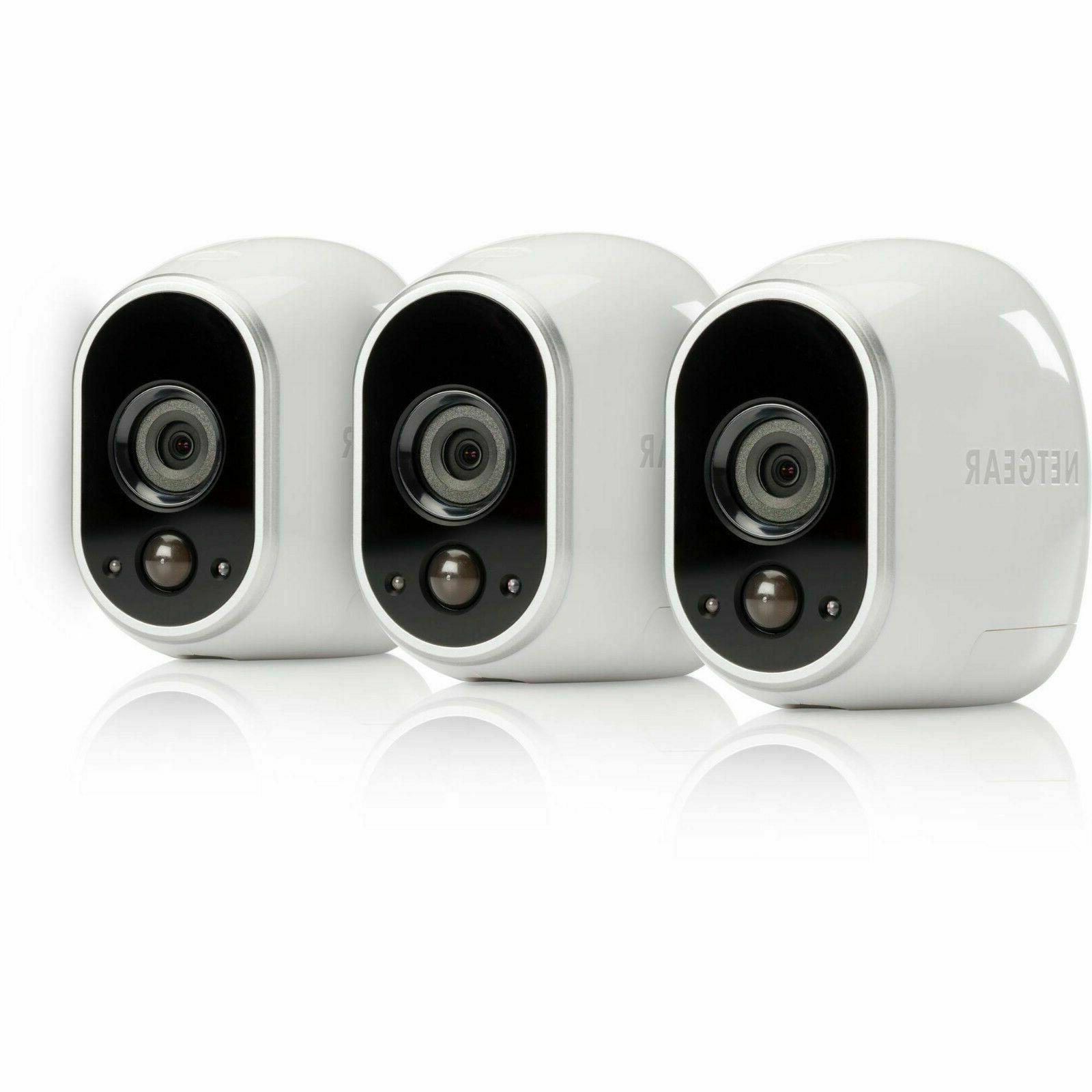 Arlo System - 3 Cameras Indoor/Outdoor/Night vision