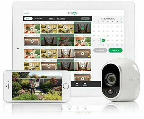 Arlo HD System 3 Cameras Indoor/Outdoor/Night