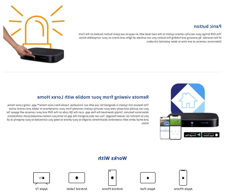 Lorex HD System Cameras 120ft Night HDD