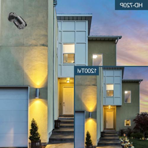 SANNCE 720P 1500TVL IR Night Vision for Home Camera