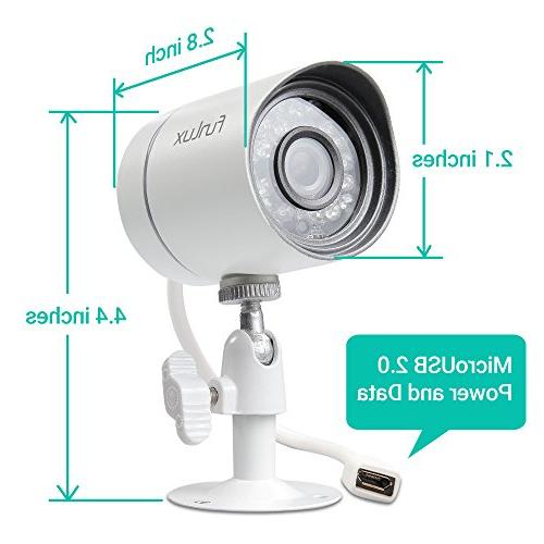 Funlux HDMI NVR 4 720p Indoor Camera