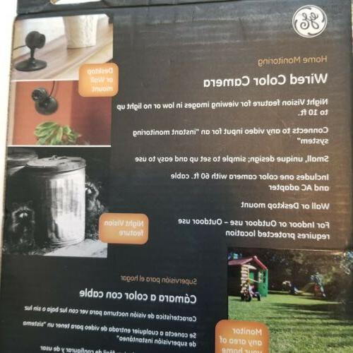 GE Home Monitoring Color Camera W/Night Vision