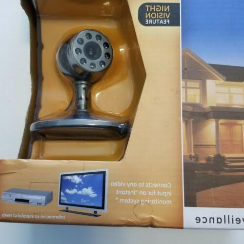 GE Home Monitoring Wired Color Camera W/Night NEW