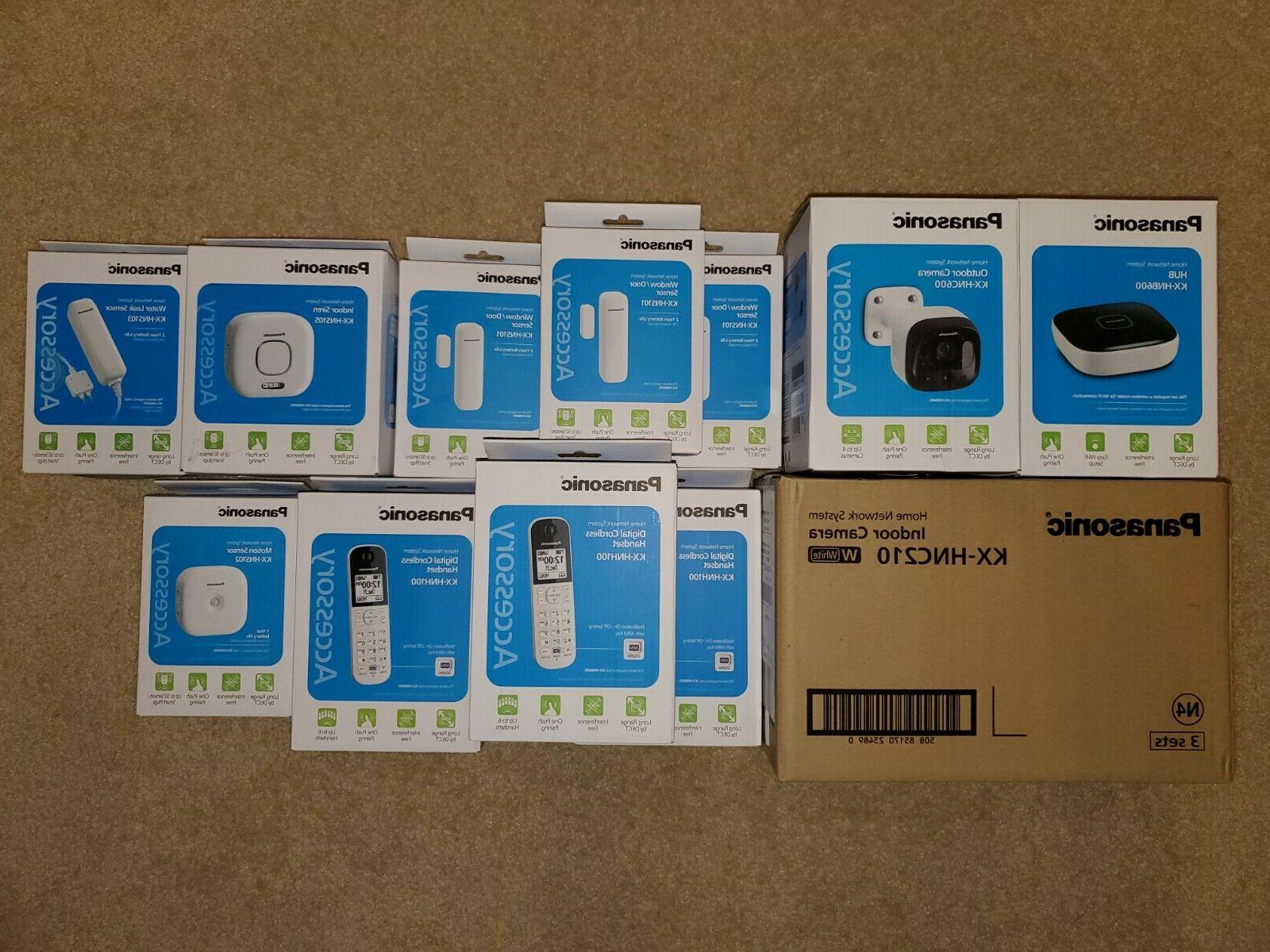 home security network system with indoor