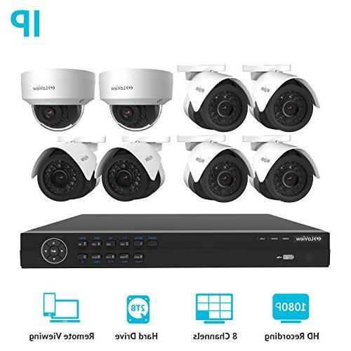 ip 8 security system surveillance