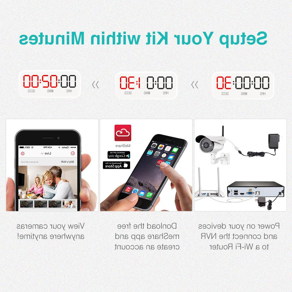 Funlux® Outdoor Security System 1T