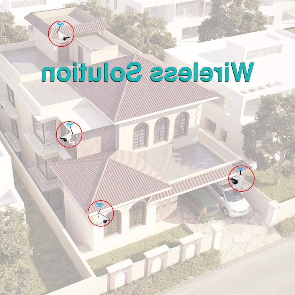 Outdoor Wireless Camera Home Security System 1T