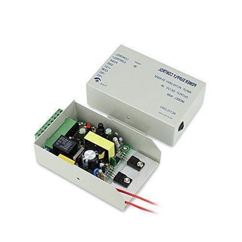 4 Bio Fingerprint & RFID Time Security Control System Lock Push to