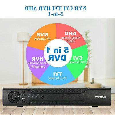KKMOON 1080P DVR CCTV 1500TVL Security Onvif