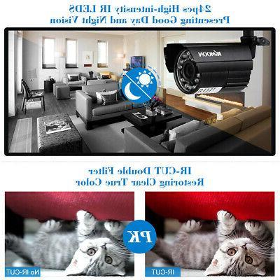 KKMOON CCTV 1500TVL System Onvif