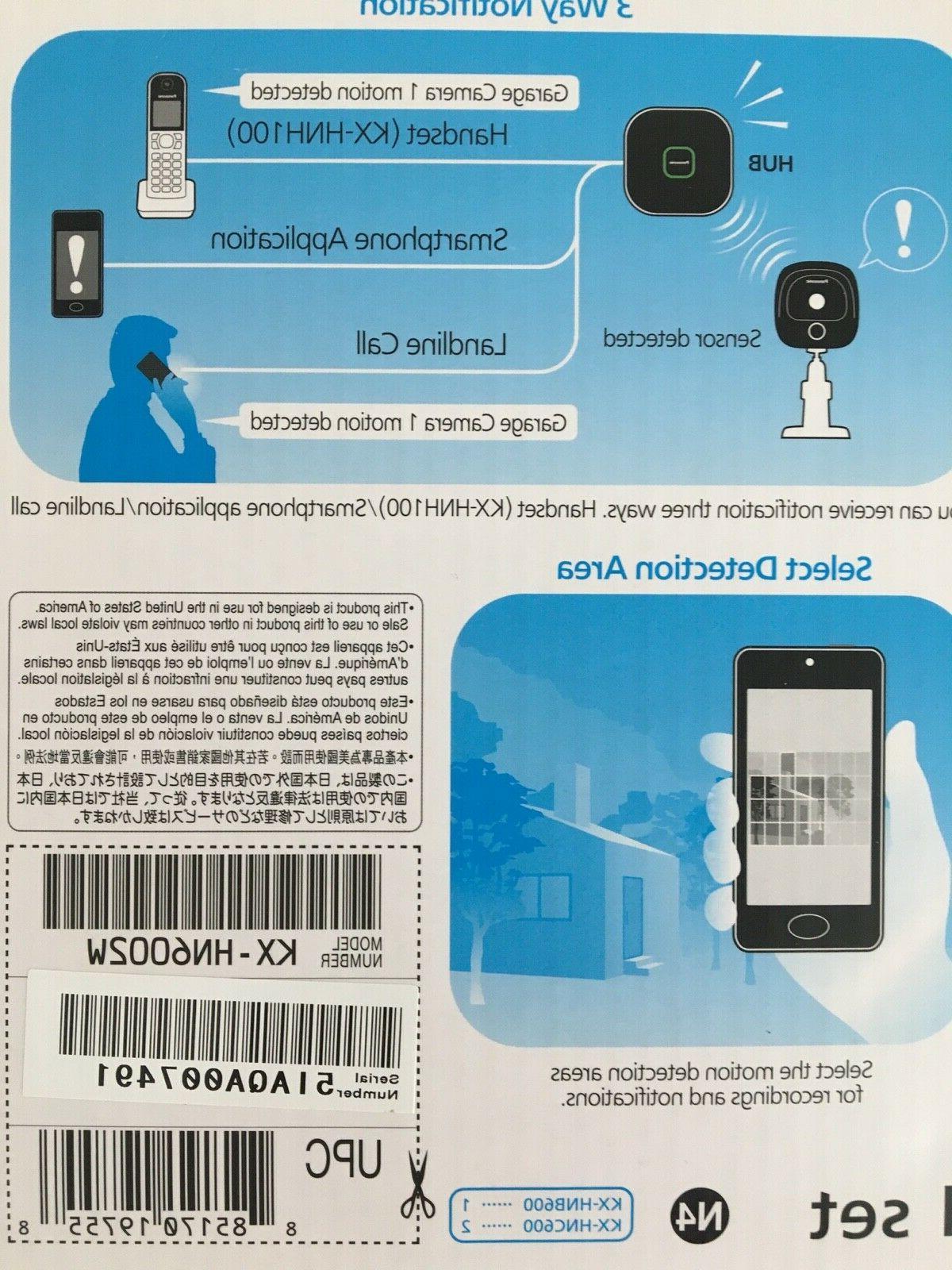 Panasonic Kx-hn6002 Home Surveillance System Security