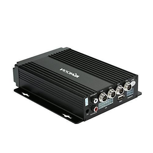 mobile dvr 4ch audio surveillance