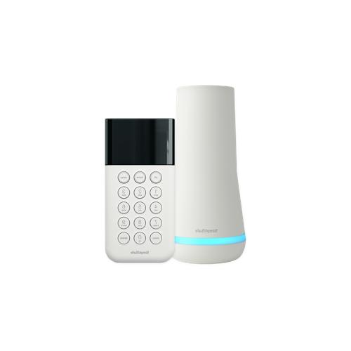 NEW SimpliSafe Base and Keypad White/Cloud - 3rd Gen