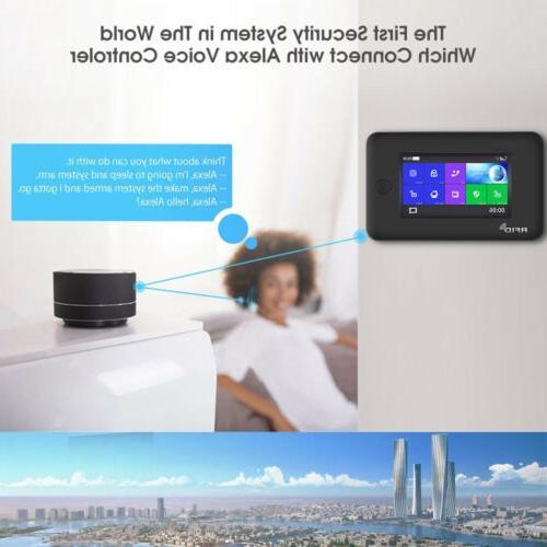 O47 Home Alarm Burglar System+Amazon Alexa