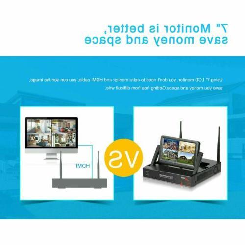 Outdoor Wireless IP Monitor Home Surveillance