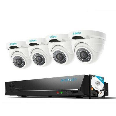 Reolink 4mp 8ch Poe Video Surveillance System 4
