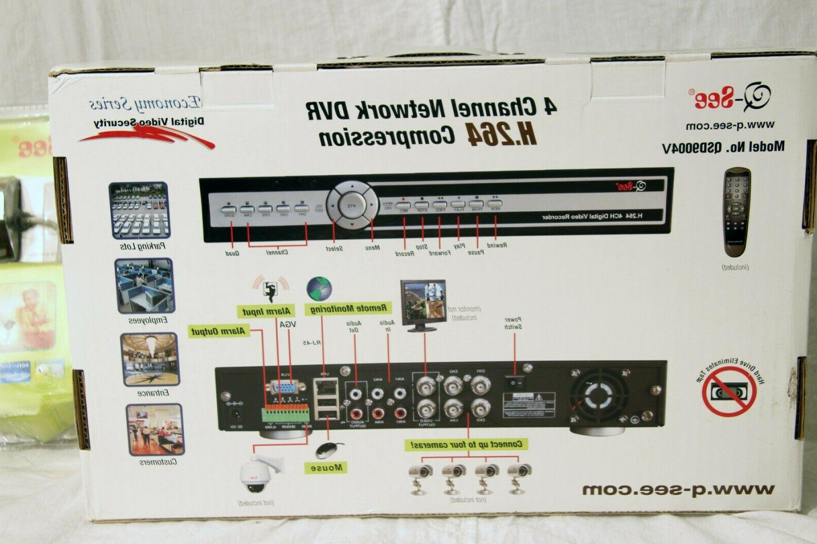 Q-SEE Network Recorder System W/