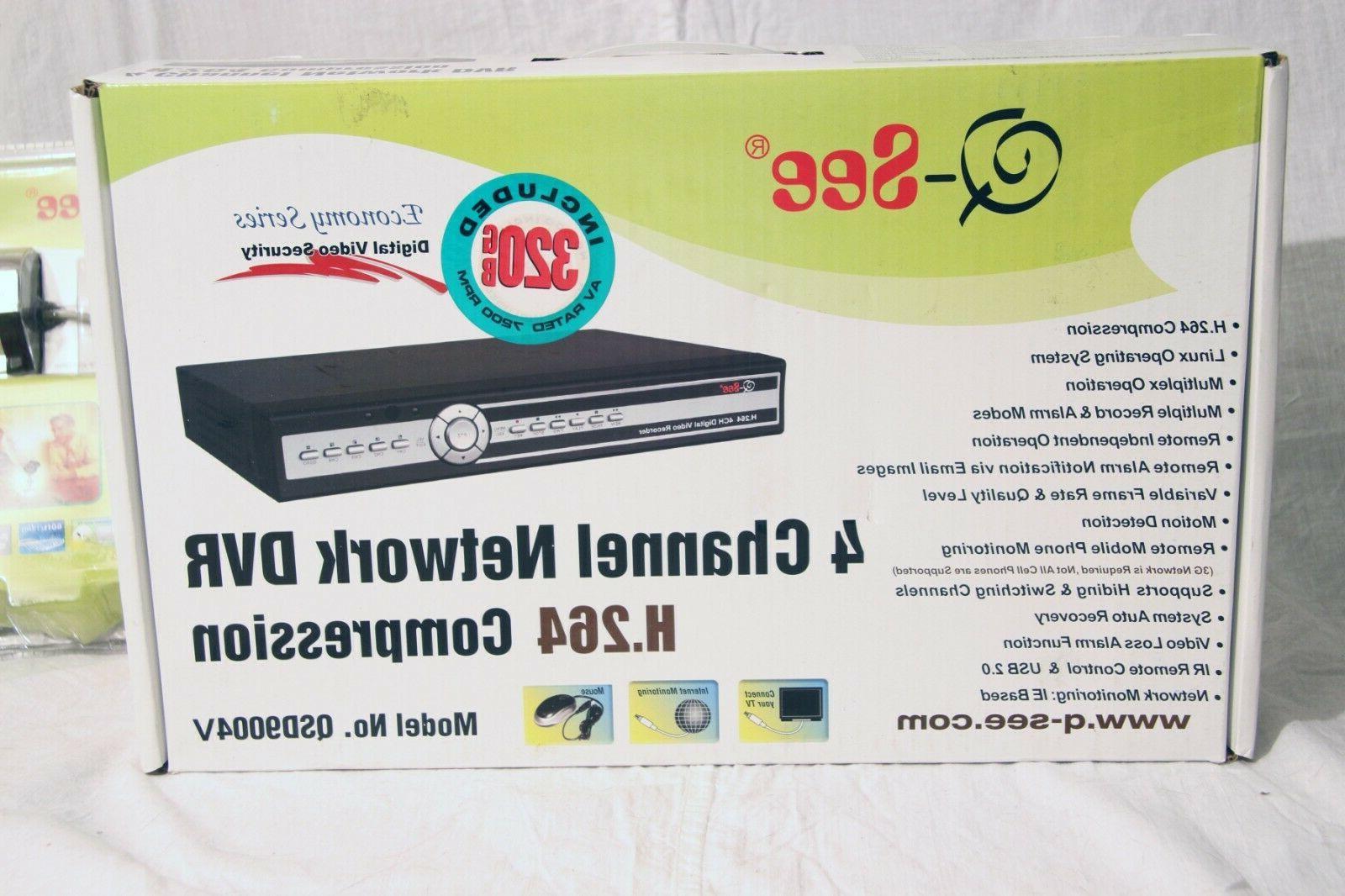Q-SEE QSD9004 Digital Video Network W/