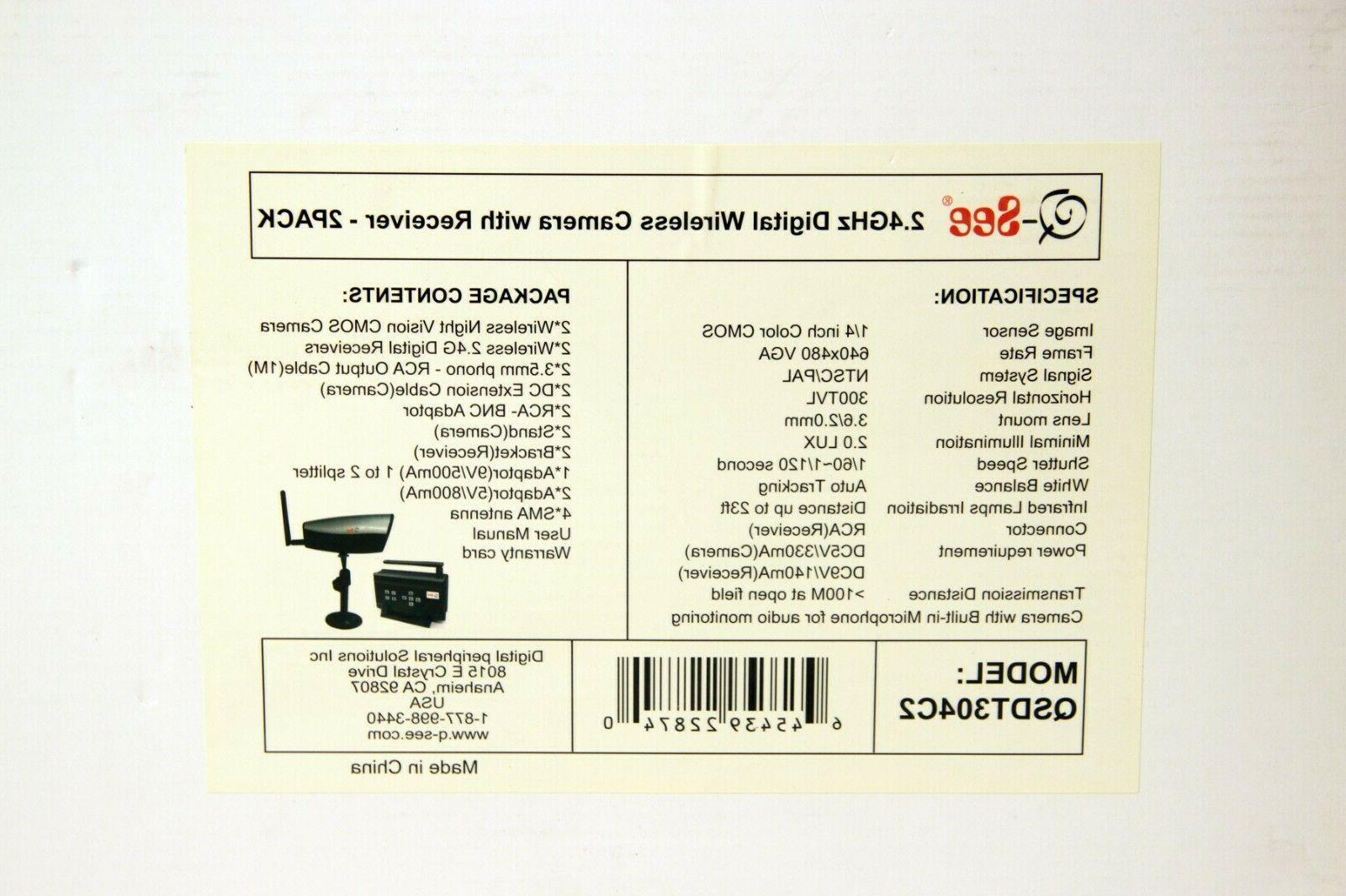 Q-SEE QSD9004 Digital Network Security W/