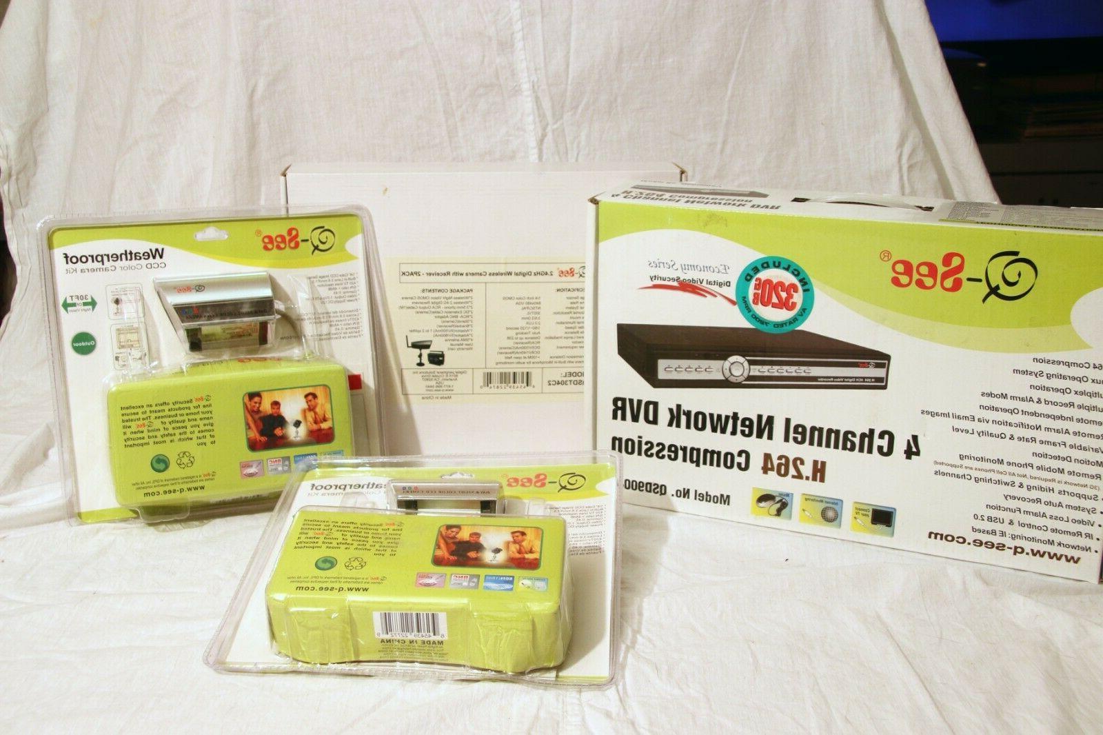 q see qsd9004 digital video network recorder