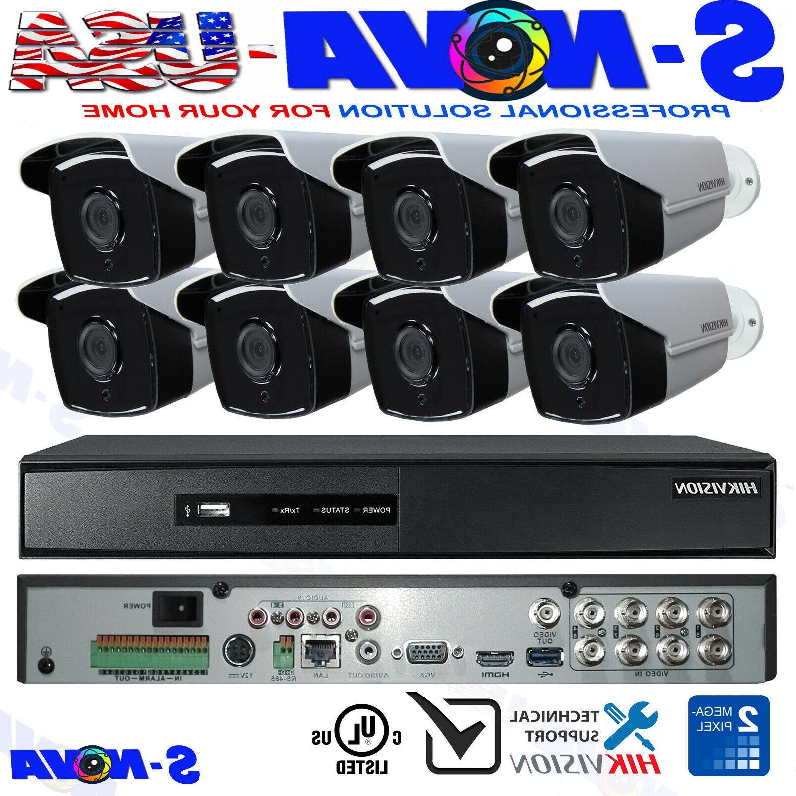 security camera system kit bullet 1080p turbo