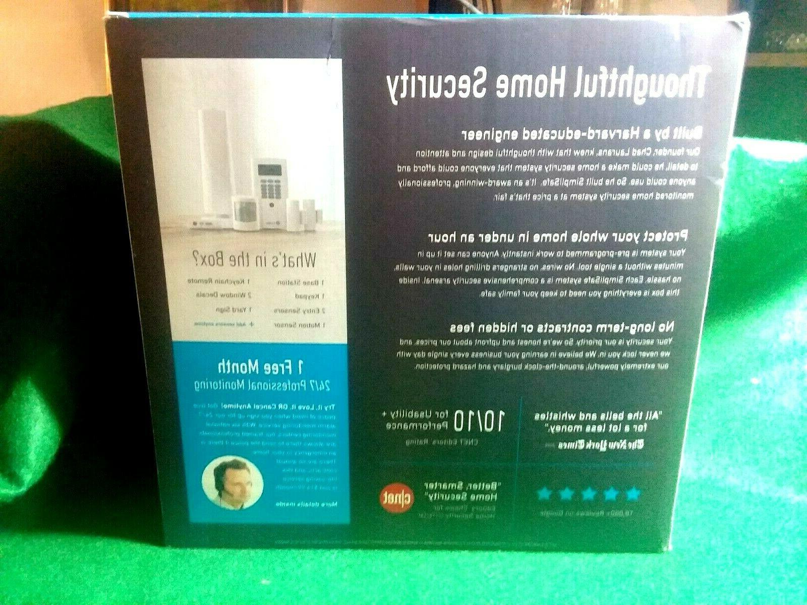 SimplySafe Secure Wireless Home Safe 6 kit in