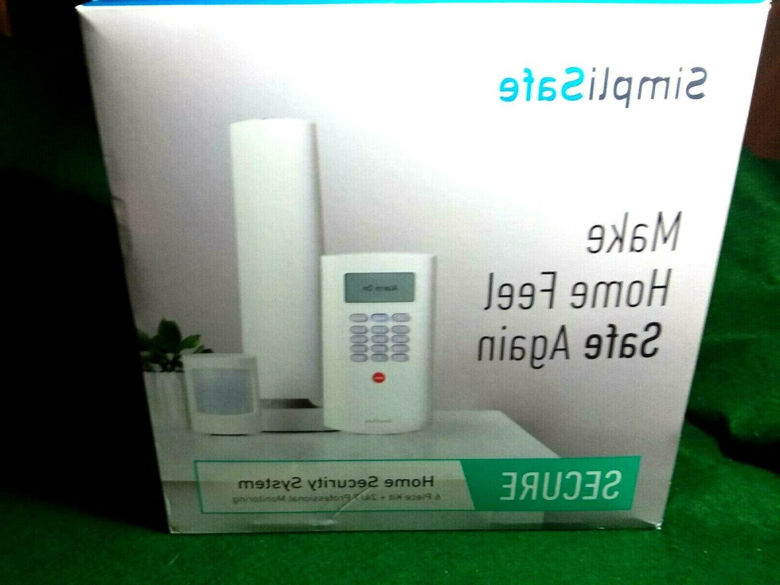 simplysafe secure wireless home safe security alarm