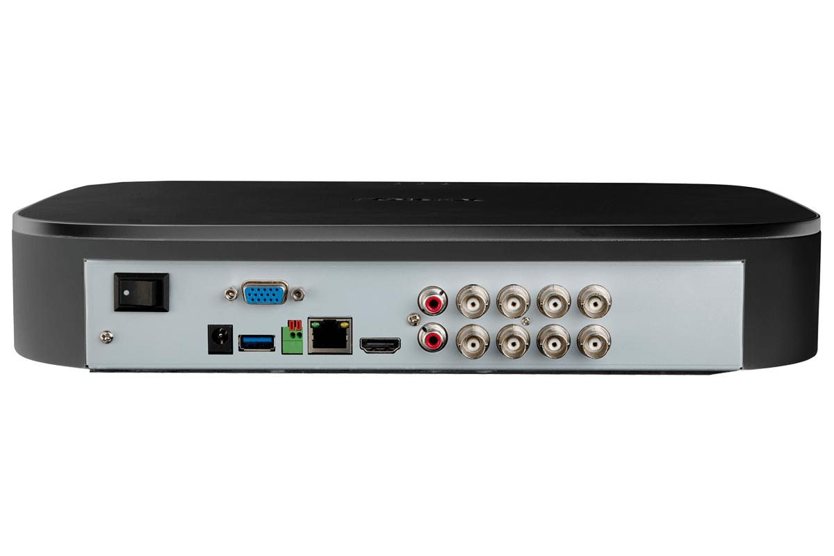 Lorex 8-Channel 2TB 4 Deterrence Security System