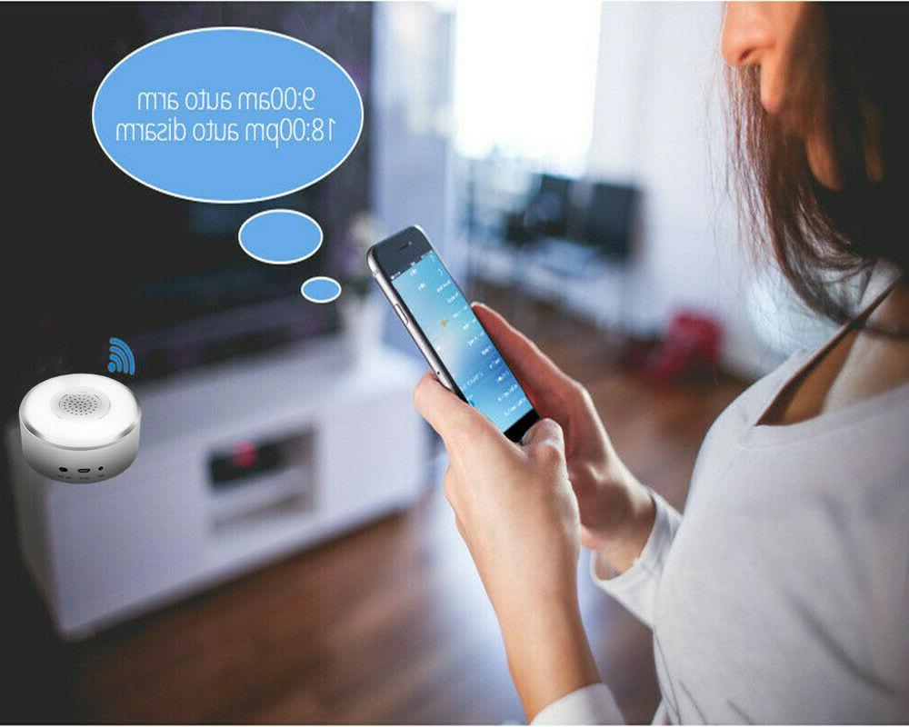 Smart Security System Wifi Alarm Kit Push DIY Monthly