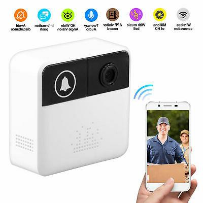 Smart Video Wireless WiFi Door IR Visual Camera Security Kit