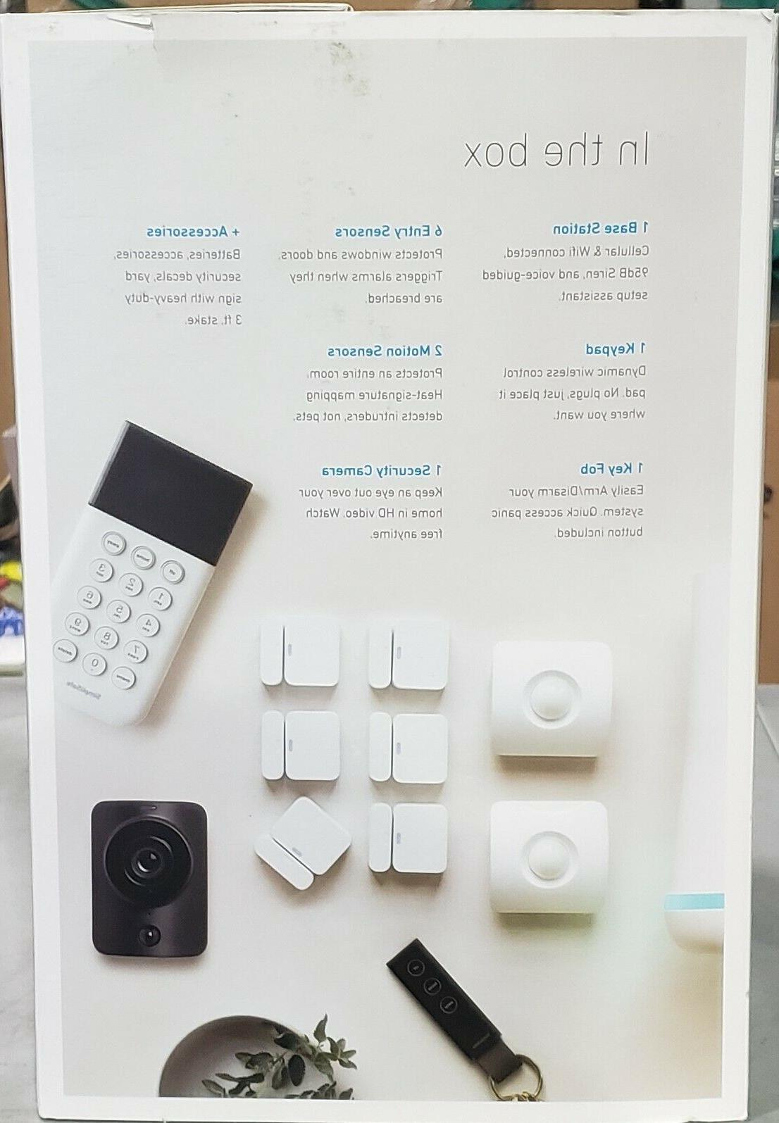 SimpliSafe SS3-SAMS-01 Wireless Security with Bonus HD SimpliCam