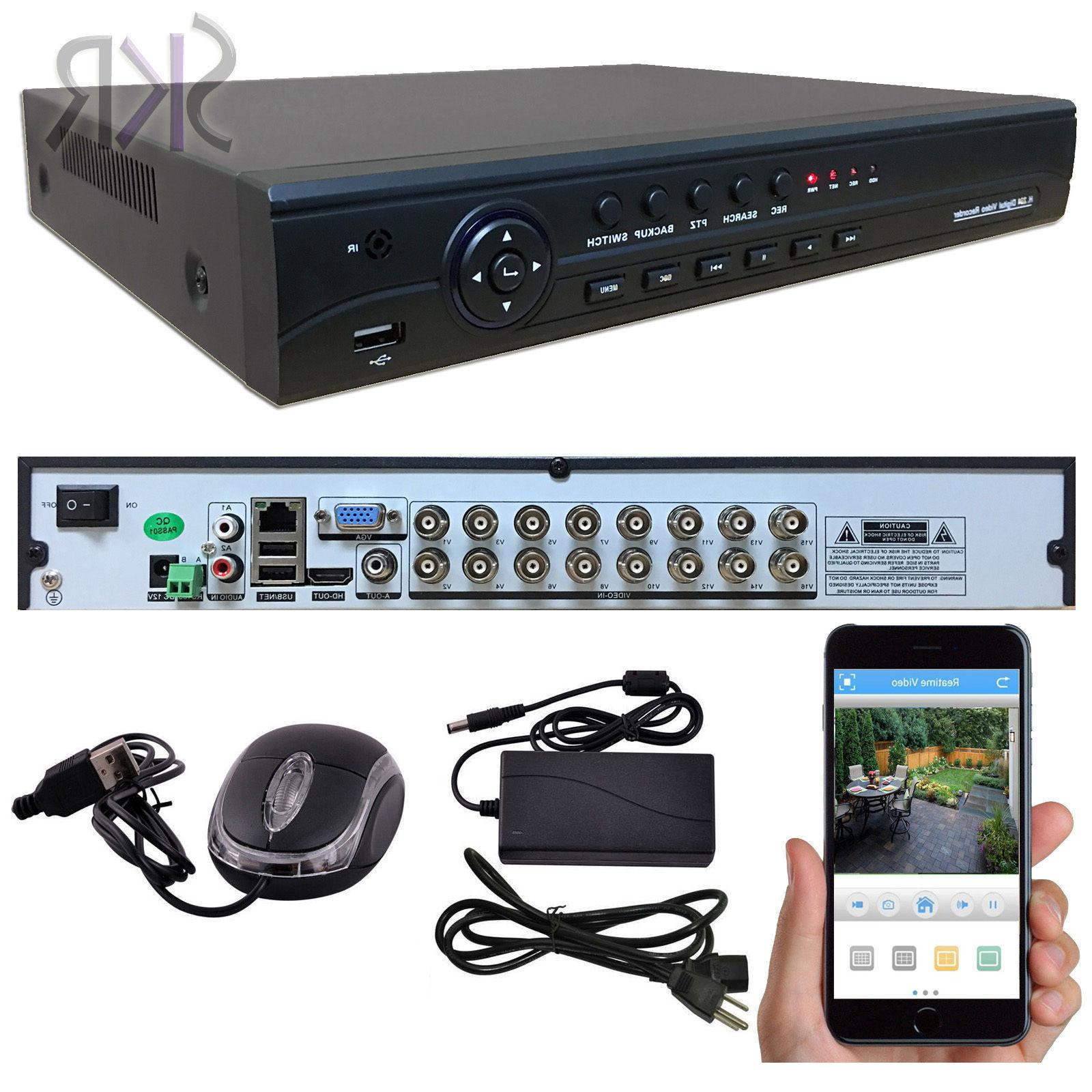 Channel CCTV DVR Security