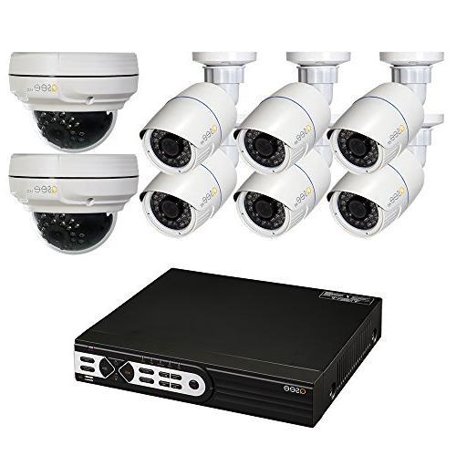 surveillance system qt8516 8z8