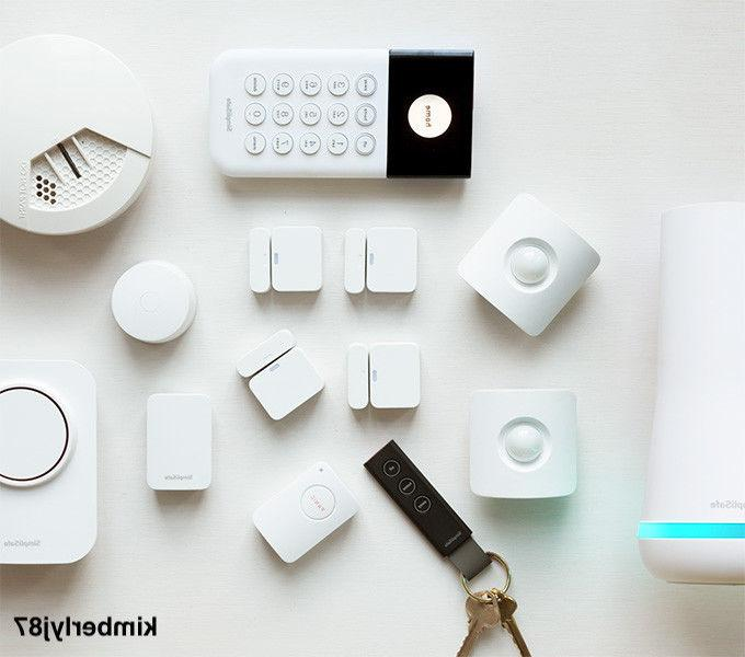 SimpliSafe The Haven Cloud security System:14 Pieces +Free C