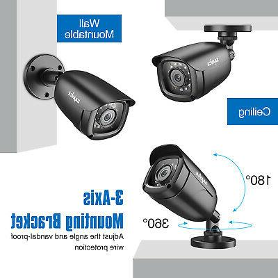 SANNCE 4CH 10.1'' LCD Outdoor System