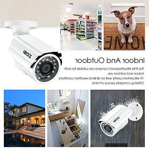 Surveillance Camera Weatherproof CCTV with Vision