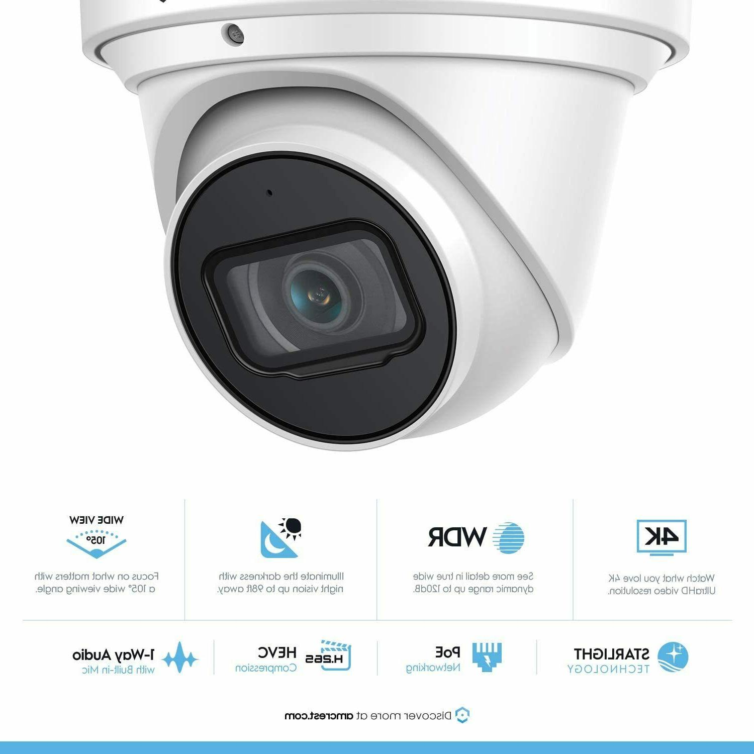 Amcrest Outdoor Security IP 8MP System Turret