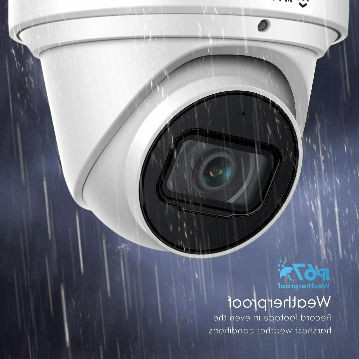 Outdoor Security IP 8MP System