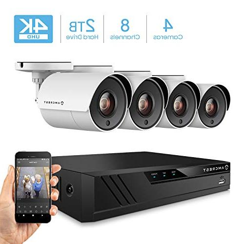 ultrahd 8ch home security system