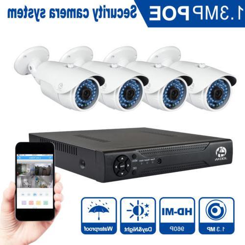 JOOAN Waterproof Camera Security System