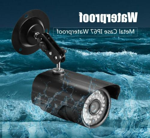 wired 1200tvl bullet wide angle security cctv