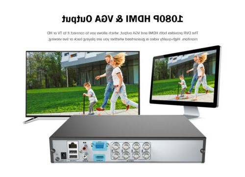 US ANNKE DVR 2MP Smart Network