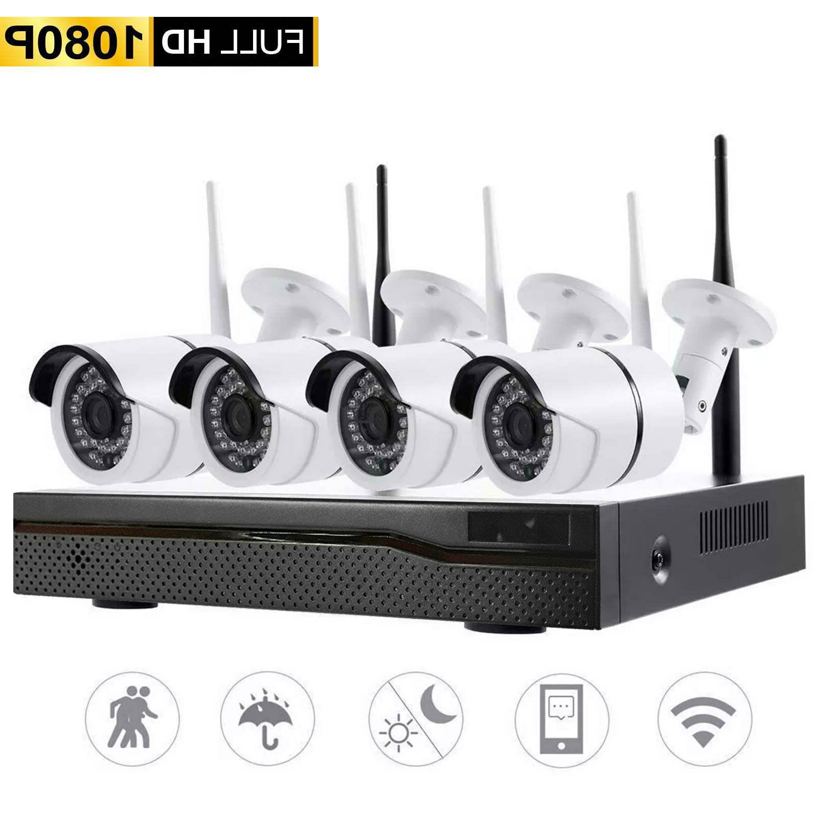 Xtech Wireless NVR Camera System Kit