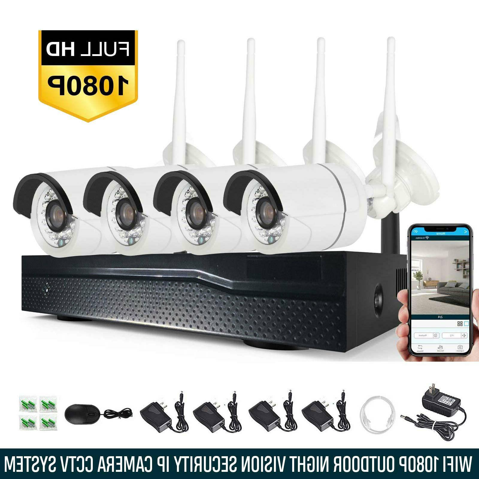 Xtech NVR Outdoor indoor WIFI Camera Kit