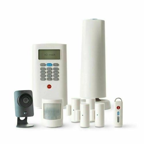 wireless 8 piece home security command bravo