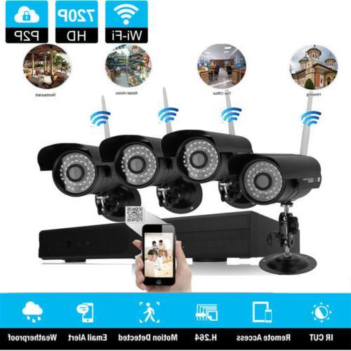Wireless 8CH WIFI IR-CUT Detection