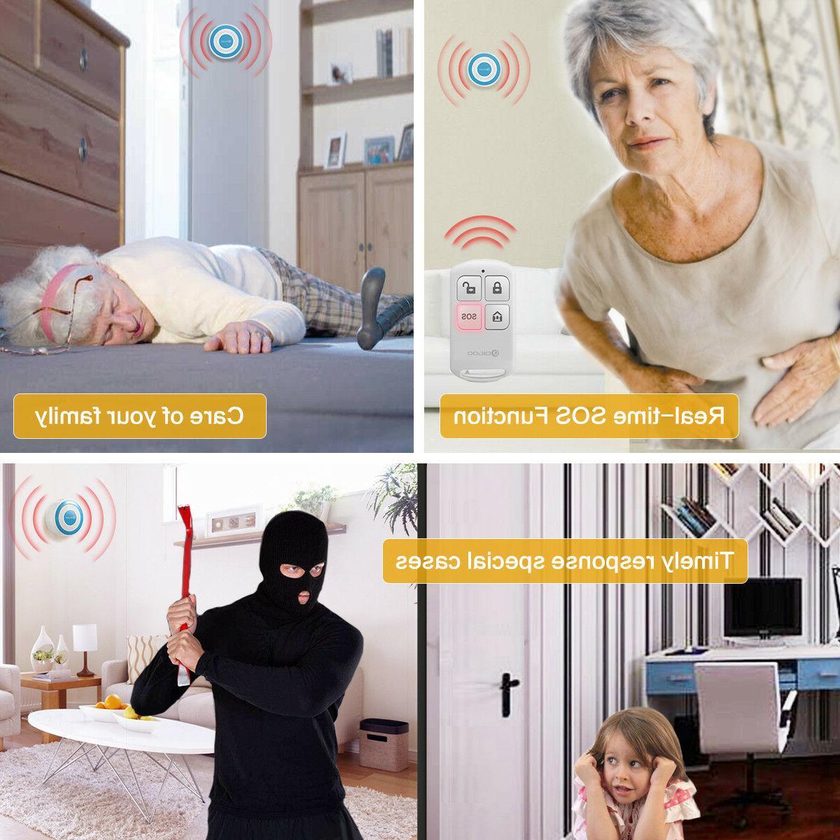 Digoo Wireless Home Alarm Standalone Siren Host PIR