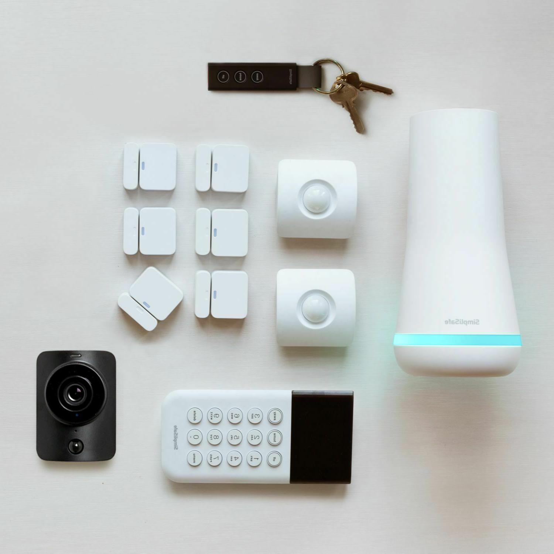 wireless home security system with bonus simplicam