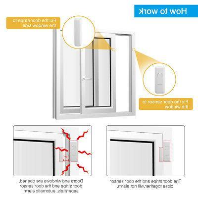 Digoo Wireless Window Door Burglar Security Magnetic